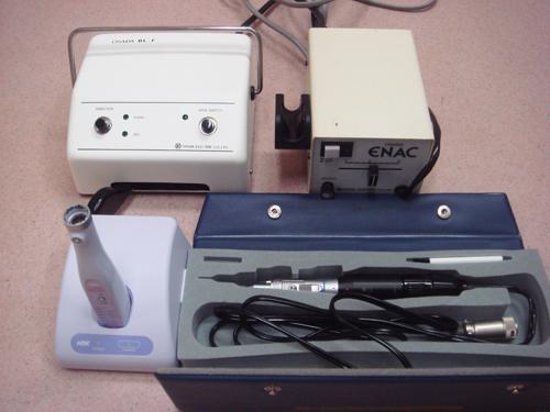 歯科機器(マイクロエンジンドリル、超音波スケーラー)
